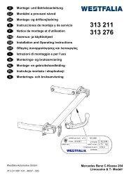 Mercedes Benz C-Klasse 204 Limousine & T- Modell Montage- und ...