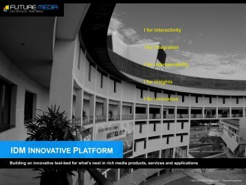 IDM INNOVATIVE PLATFORM