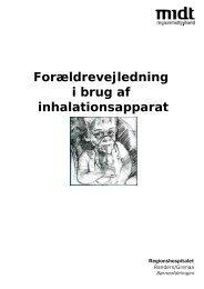 Inhalationsapparat - Regionshospitalet Randers