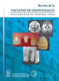 nuestra revista - Facultad de Odontología - Universidad de Buenos ...