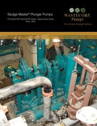 Brochures - Wastecorp Pumps