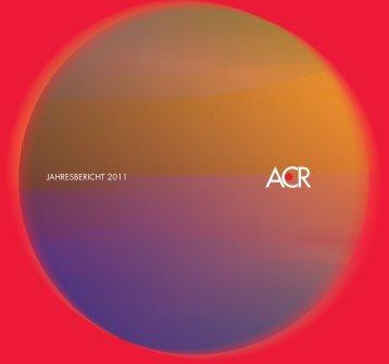 Download ACR Jahresbericht 2011