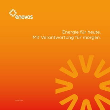 Enovos Imageflyer - Enovos Energie Deutschland GmbH