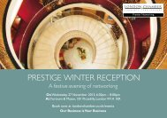 prestige winter reception - London Chamber of Commerce and ...