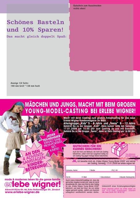 Dezember 2008 / Januar 2009 Zum Mitnehmen! - Familienmagazin ...