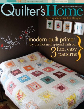 fun, easy patterns - Quilter's Home