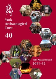 2011–12 York Archaeological Trust