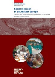 Social Inclusion in South-East Europe - Bibliothek der Friedrich ...