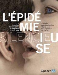 L'épidémie silencieuse - Gouvernement du Québec