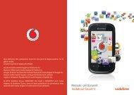 User manual Vodafone Smart II
