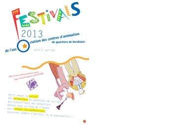 S - Association des centres d'animation de quartiers de Bordeaux