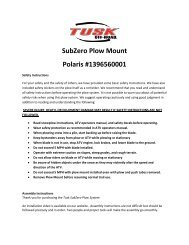 MAIL IN REBATE ON NEXT PAGE - Rocky Mountain ATV/MC