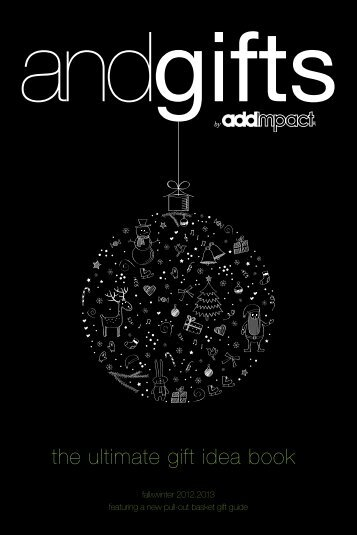 DOWNLOAD OUR HOLIDAY CATALOGUE HERE. - Add Impact