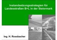 Instandsetzungsstrategien für Landesstraßen B+L in der ... - Gestrata
