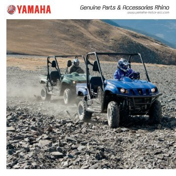 Rhino 700 and 660 - Yamaha Motor Europe