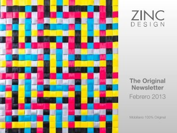 The Original Newsletter Febrero 2013 - Zinc