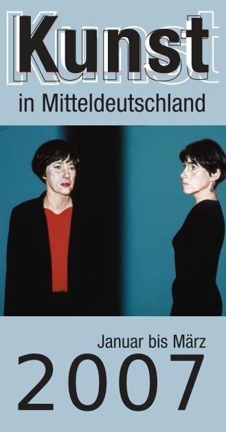 NEUER_Galeriespiegel ok12 - KUNST in Mitteldeutschland