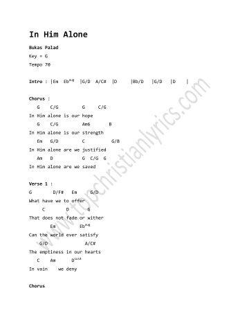 With A Thankful Heart Chords Christian Lyrics