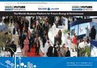World Future Energy Exhibitions Brochure - architects24.com