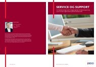 SERVICE OG SUPPORT - BDO