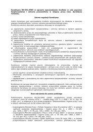 Dyrektywa 89/391/EWG - Ministerstwo Pracy i Polityki Społecznej