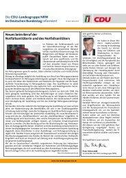 Newsletter 4/2013 - Peter Hintze, CDU