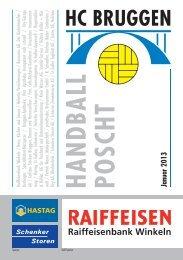 Handball Poscht: Januar 2013 - HC Bruggen