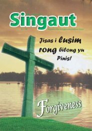 Edition 174 - Evangelical Brotherhood Church of Papua New Guinea