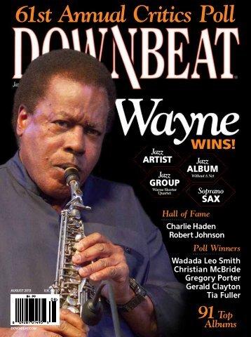 61st Annual Critics Poll Jazz - Downbeat