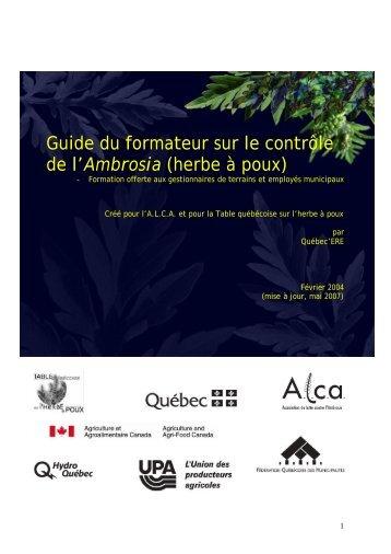 Télécharger document (1 Mo) - Réseau québécois des villes et ...