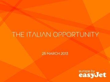 View presentation - easyJet plc