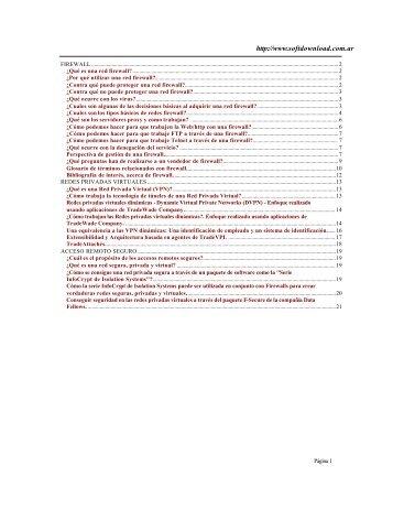 Descargar Manual de Redes Protección y ... - Mundo Manuales