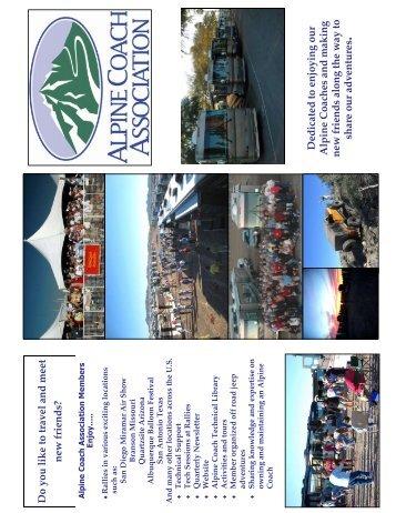 Membership Application - Alpine Coach Association