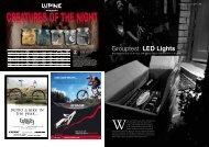 Grouptest: LED Lights - Lupine