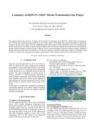 A summary of KEPCO's 345kV Marine Transmission Line Project