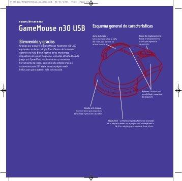 Gamemouse n30 USB - Belkin
