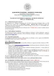 BANDO MEDICI 2 2011 - Ordinemedici.bz.it
