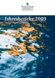 Jahresbericht 2009 - Murg Stiftung