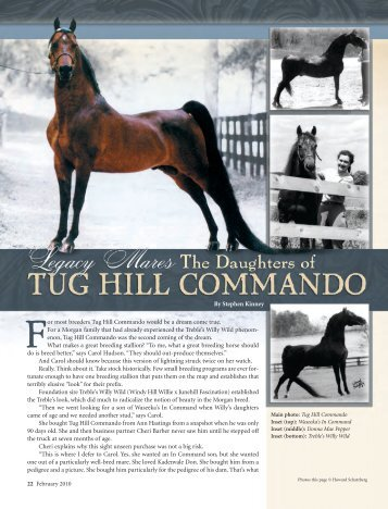 The Daughters of Tug Hill Commando