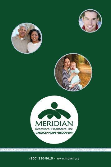 Read Full News Story - Meridian Behavioral Healthcare, Inc.