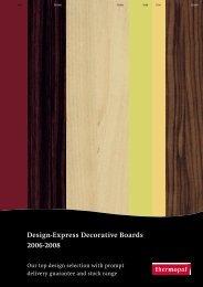 Design-Express Decorative Boards 2006-2008 - master profil