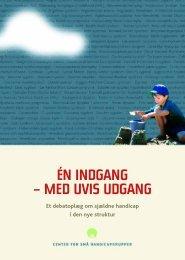 ÉN INDGANG – MED UVIS UDGANG - Socialstyrelsen