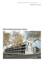 Wohnsiedlung Aarenau, Aarau - Metron