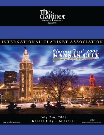 About the Writers… - International Clarinet Association