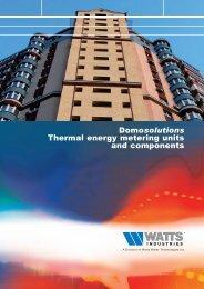 89-0020-UK - Domosolutions Thermal energy ... - Watts Industries