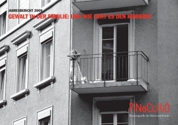 Jahresbericht 2009 - Pinocchio