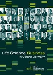 Life Science Business - Wirtschaftsinitiative für Mitteldeutschland
