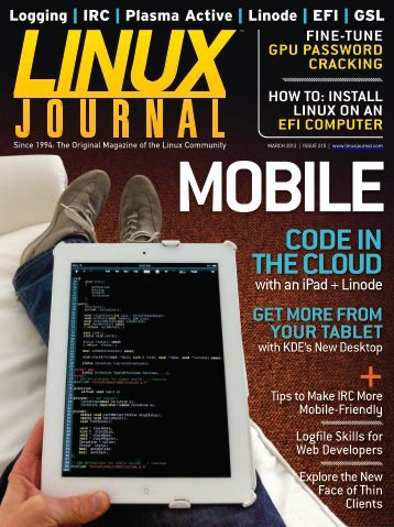 Linux Journal - March 2012 - Missoula Public Library