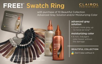 FREE!* Swatch Ring - Clairol Professional
