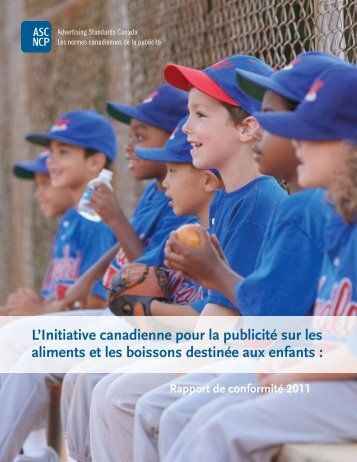 Rapport de conformité 2011 (pdf) - Advertising Standards Canada